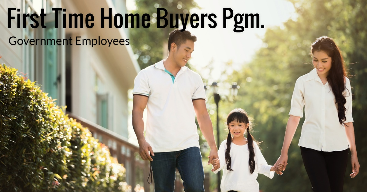 First time home buyers program for government employees for First time home buyers plan