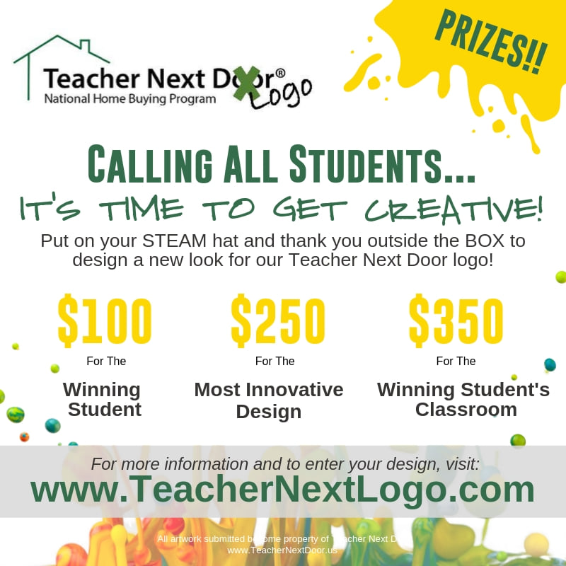 Fall Teacher Next Logo Contest 2019